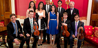 Winners of the 2018 Georgetown University Orchestra Concerto Competition